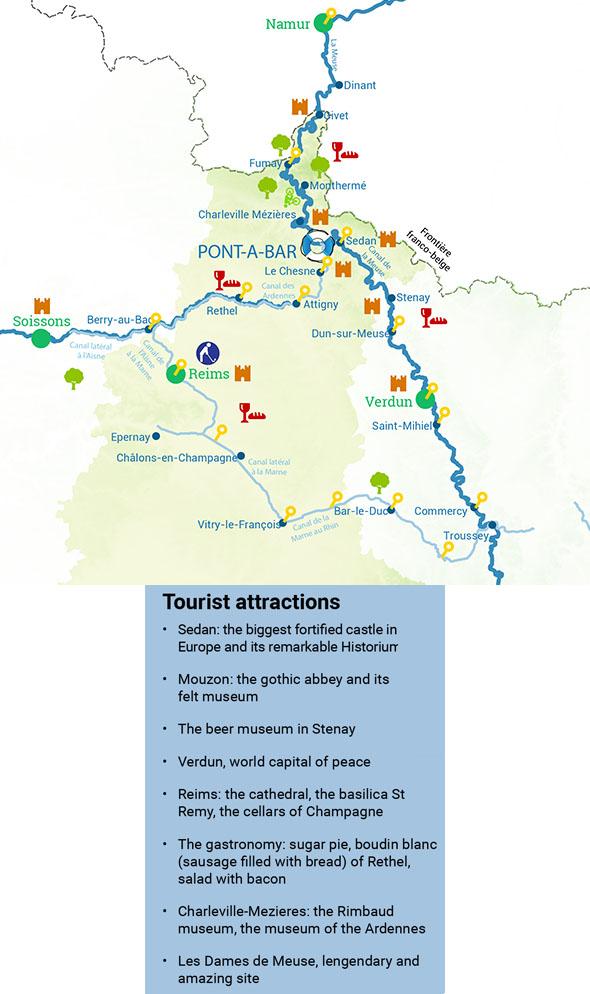 Attraits touristiques dans les Ardennes